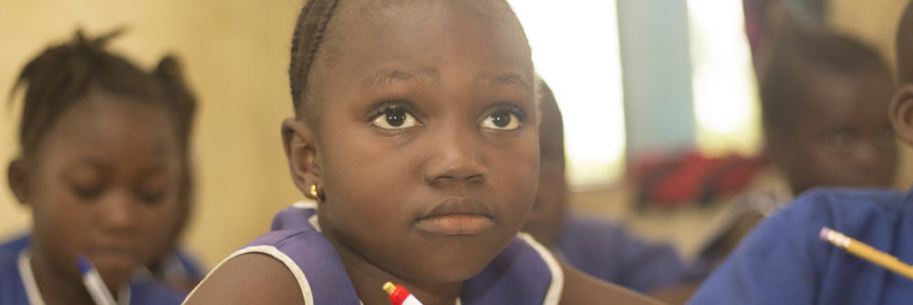 School child in Sierra Leone